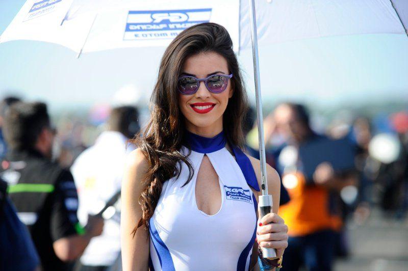Austin, Texas, USA. 10th April, 2016. MotoGP Paddock Girls