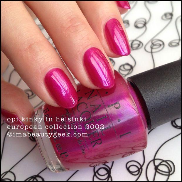BLACK LABEL OPI LOVIN\' #TBT | OPI, Opi polish and Opi nails