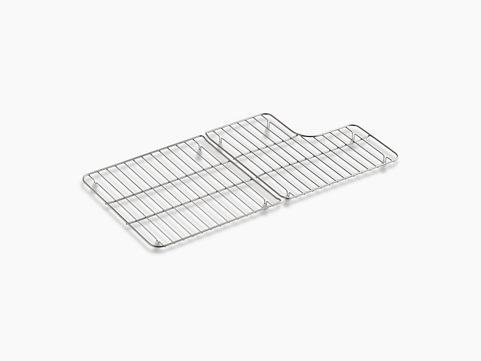 Kohler K 6639 St Sink Protector Grid For Whitehaven 36 K 6488 And K 6489 Stainless Steel Sinks Sink Kohler Whitehaven