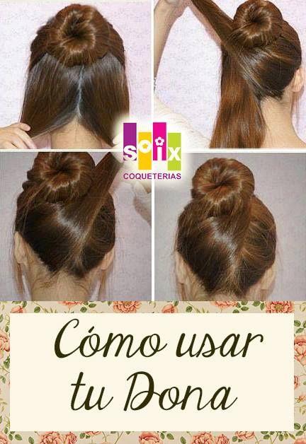 peinados faciles Belleza y Estetica Pinterest Easy updo and Updo