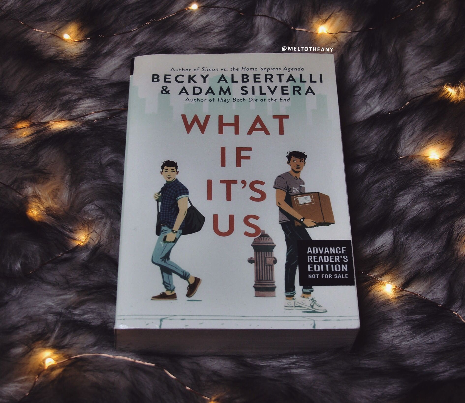 What If It S Us By Becky Albertalli Adam Silvera Meltotheany Becky Albertalli Book Cafe Book Humor