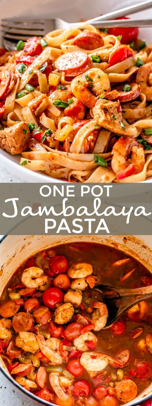 Easy One Pot One Pot Jambalaya Pasta Recipe