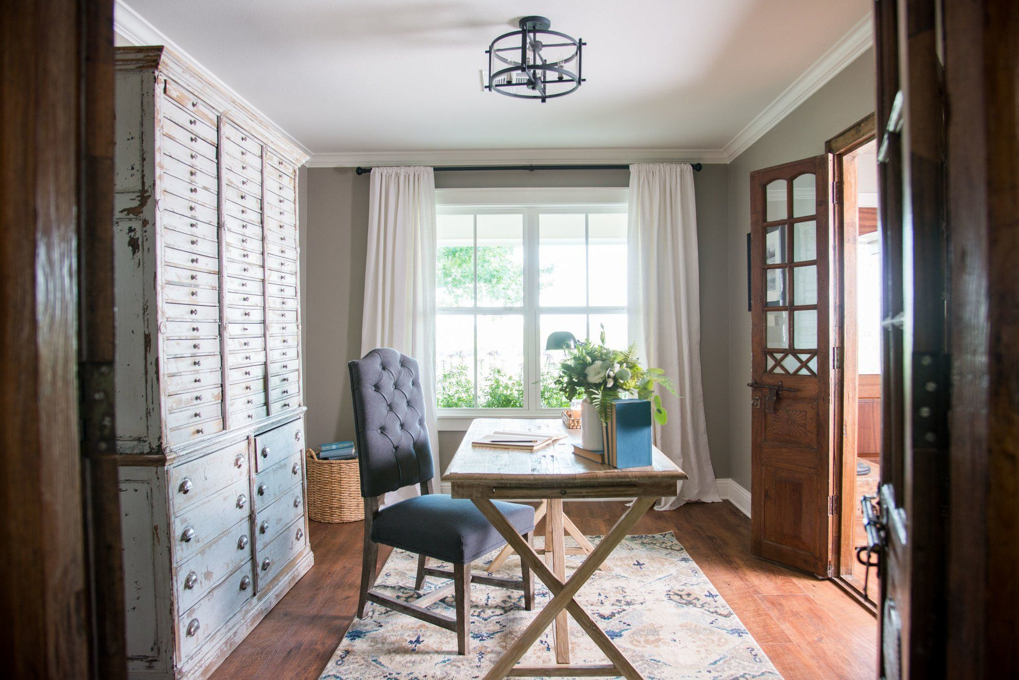 Episode 13 The Worm House Home Fixer Upper Home Office Furniture