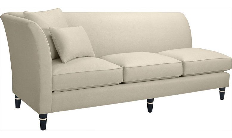 Vicomtesse One Arm Sofa Left Right By