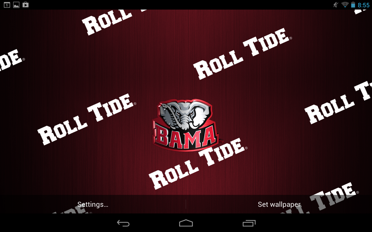 Alabama Crimson Tide Screensavers Free