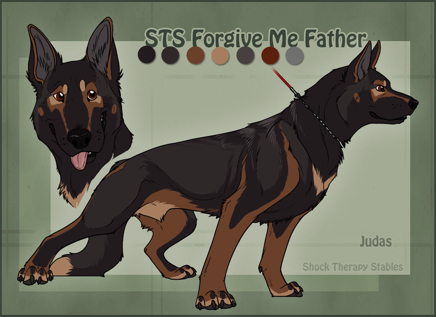 Look Who's Grown Up Judas by ShockTherapyStables
