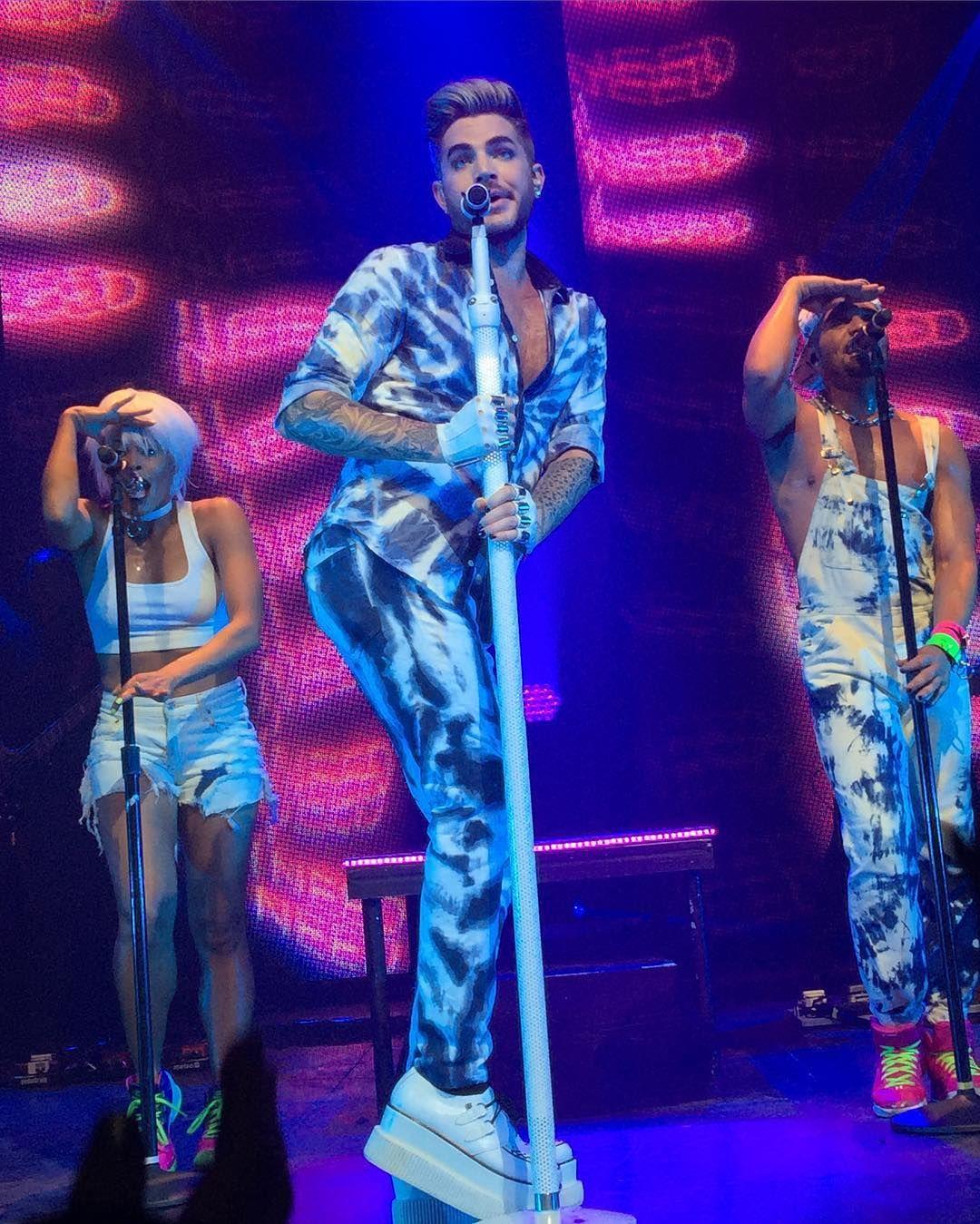 03/24/16 Adam Lambert Chicago, IL TOH Tour