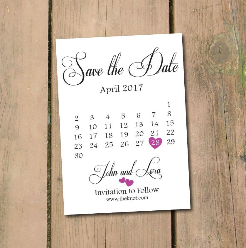 Classic Save The Date Cards Red Save The Date Printable Save Etsy In 2021 Postcard Template Free Save The Date Postcards Printable Calendar Design