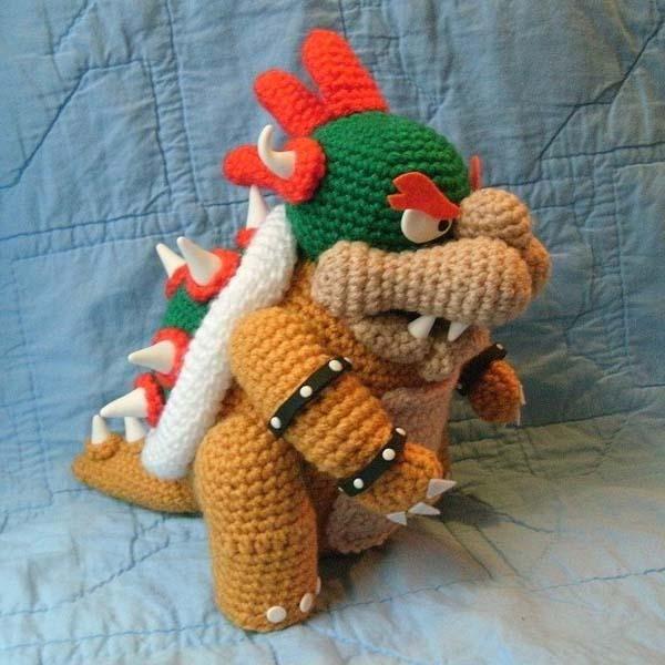 Patron Amigurumi Mario Bros En Espanol : Super Mario Bros Inspired Crochet Amigurumi Dolls Geek ...