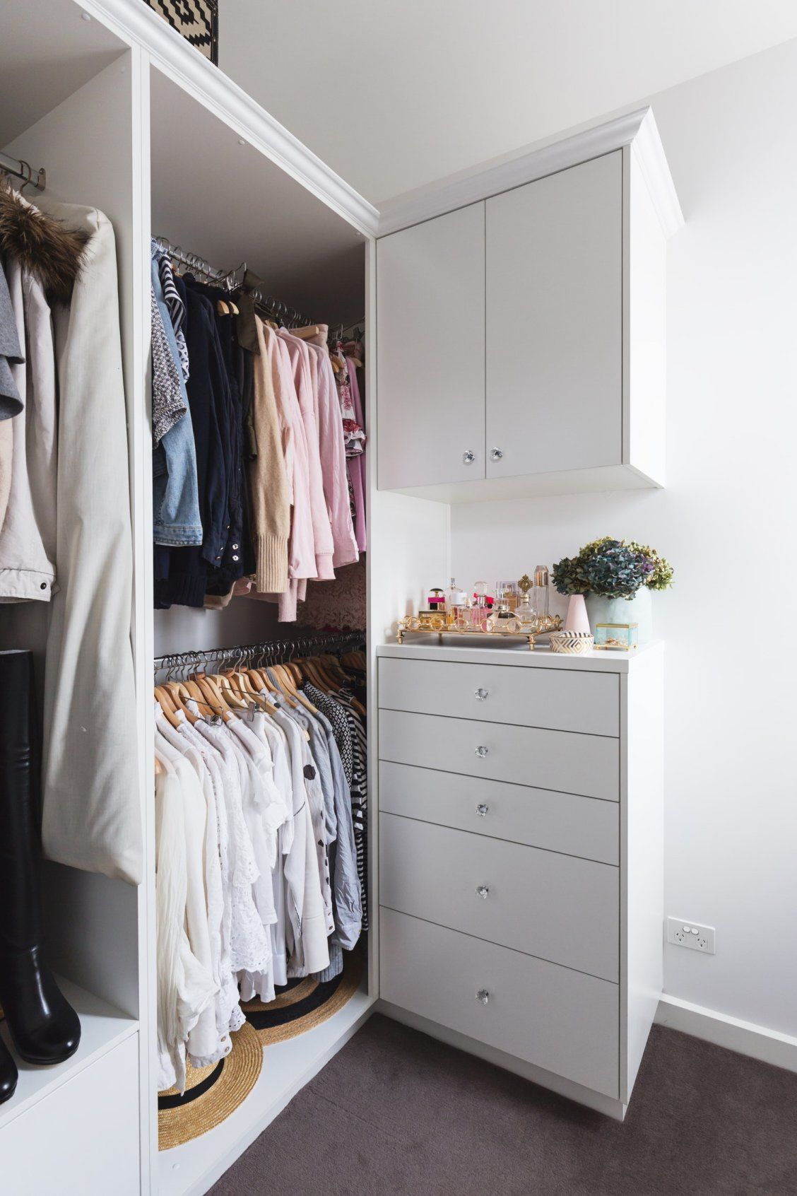 5 Ideas To Make The Most Of Your Closet Whether You Ve Got A Walk In Wardrobe An Open Clothing Rail Bedroom Or Something Between