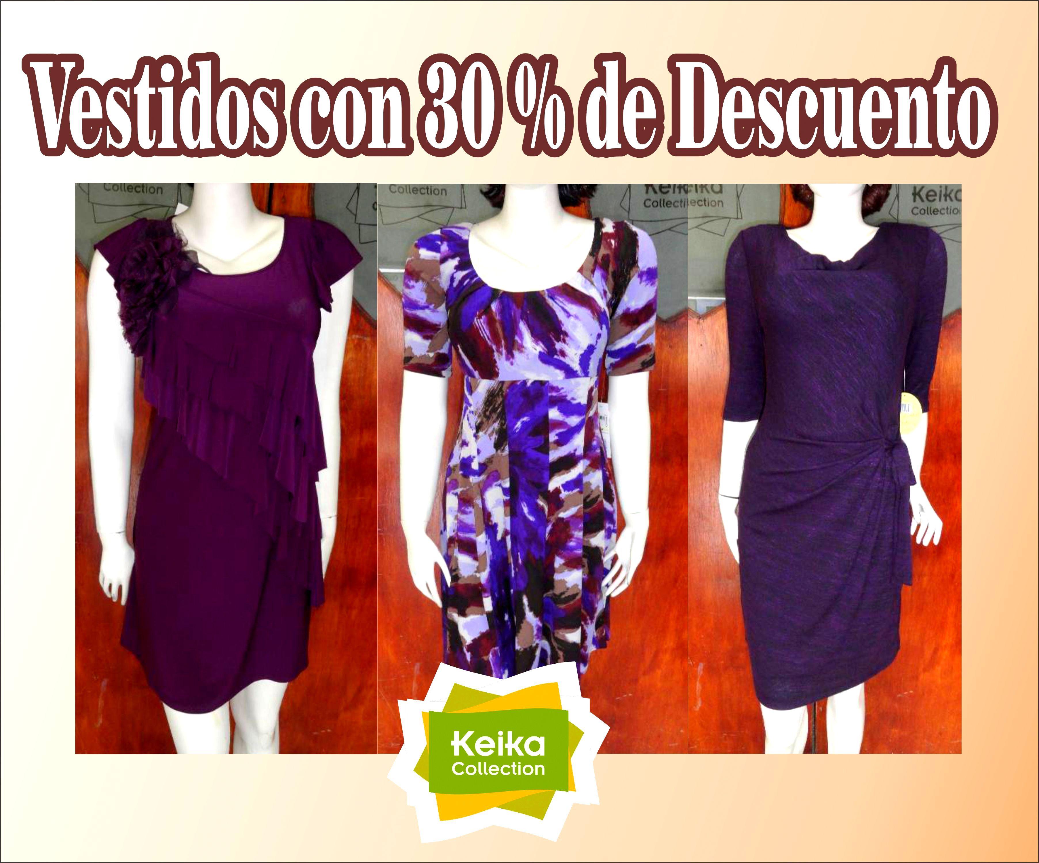 En el mes de Aniversario todos los vestidos con un 30 % de descuento