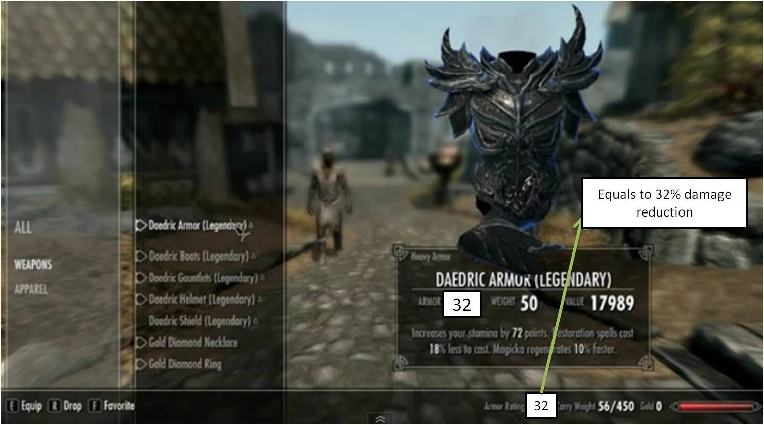 Armor Rating What You See Is What You Get Skyrim Mods Mod Armor