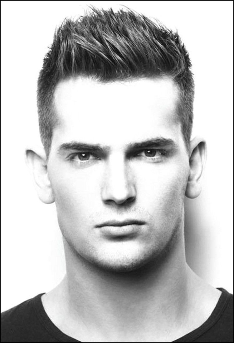 short haircuts for men with thick straight hair | men's hair
