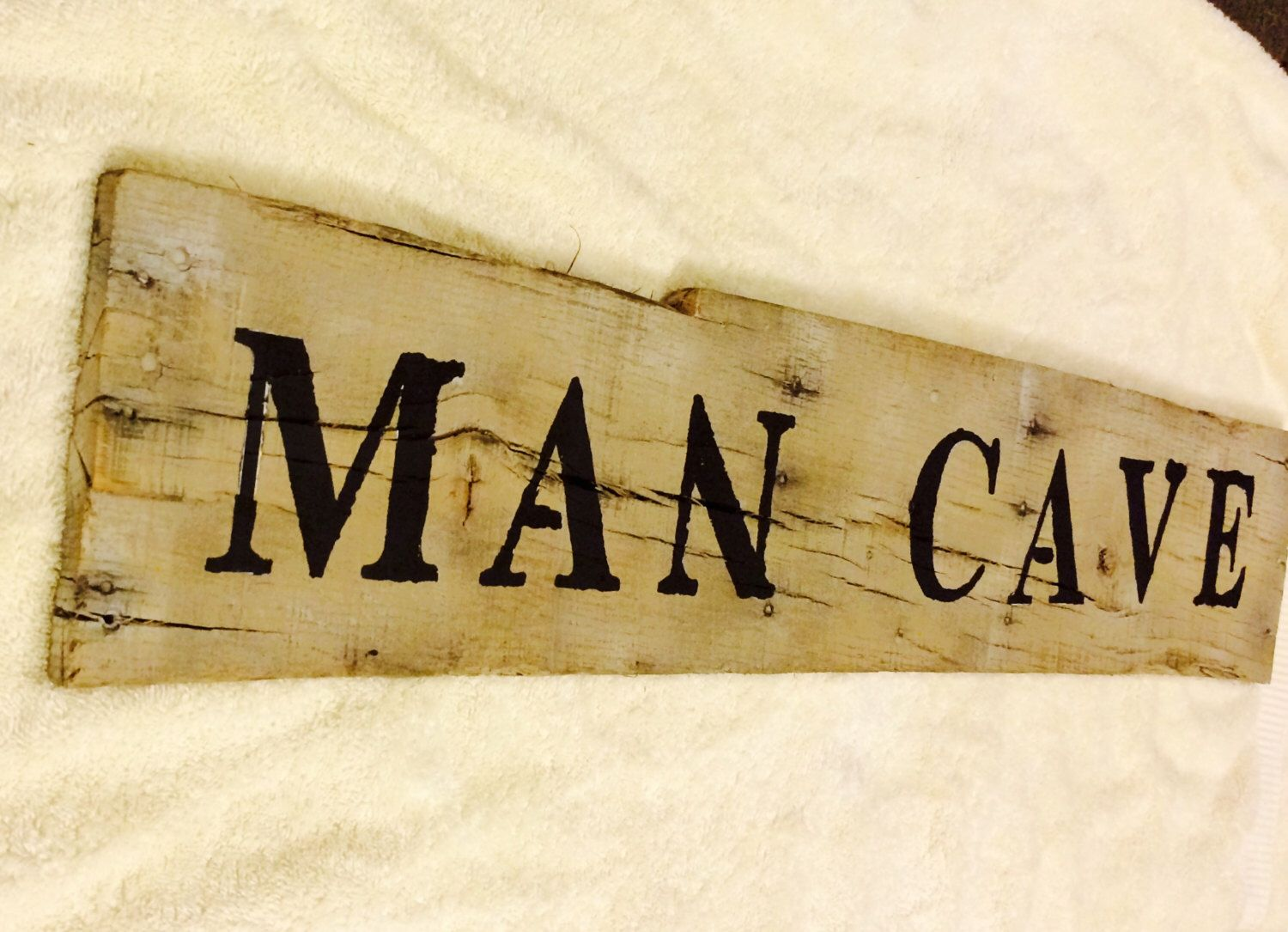 Personalized Sign - Man Cave - Rustic Home Decor -Rustic Wood Sign ...