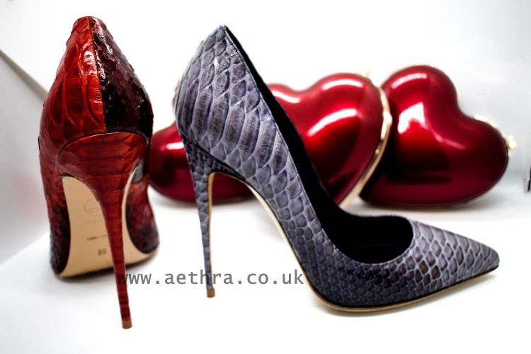 86b67b6a8bc Shop Valentines - check out our collection | Snakeskin Stilettos in ...