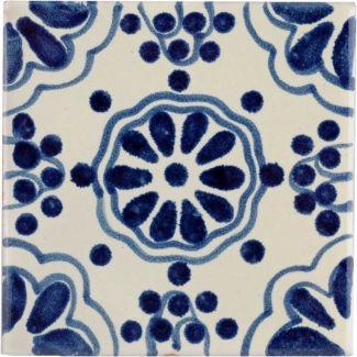 Blue Lace Terra Nova Hacienda Ceramic Tile Ceramic Tiles Mexican Ceramics Ceramics