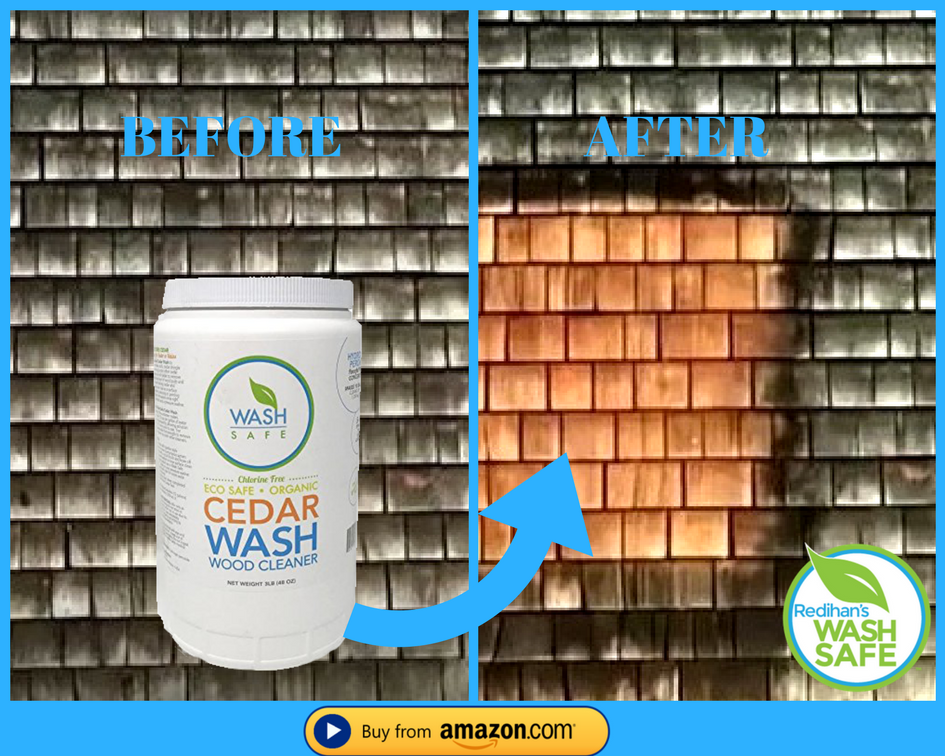 Best Ideal For Cleaning Cedar Shingles Shakes Decking Fencing 400 x 300