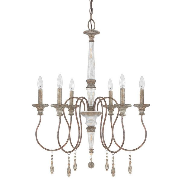 Austin Allen & Company Zoe Collection 6-light French Antique ...