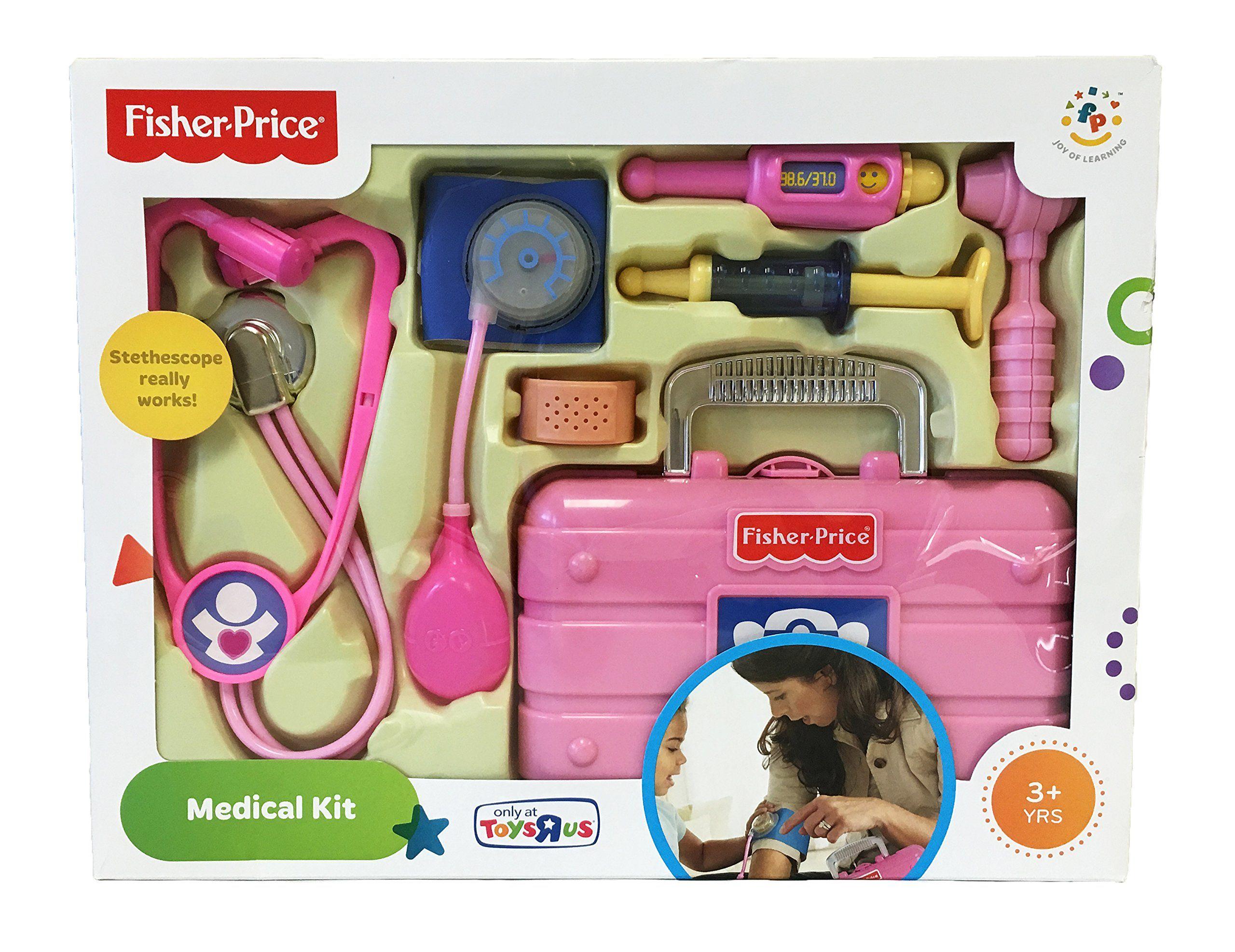 Fisher Price Exclusive Medical Kit Pink