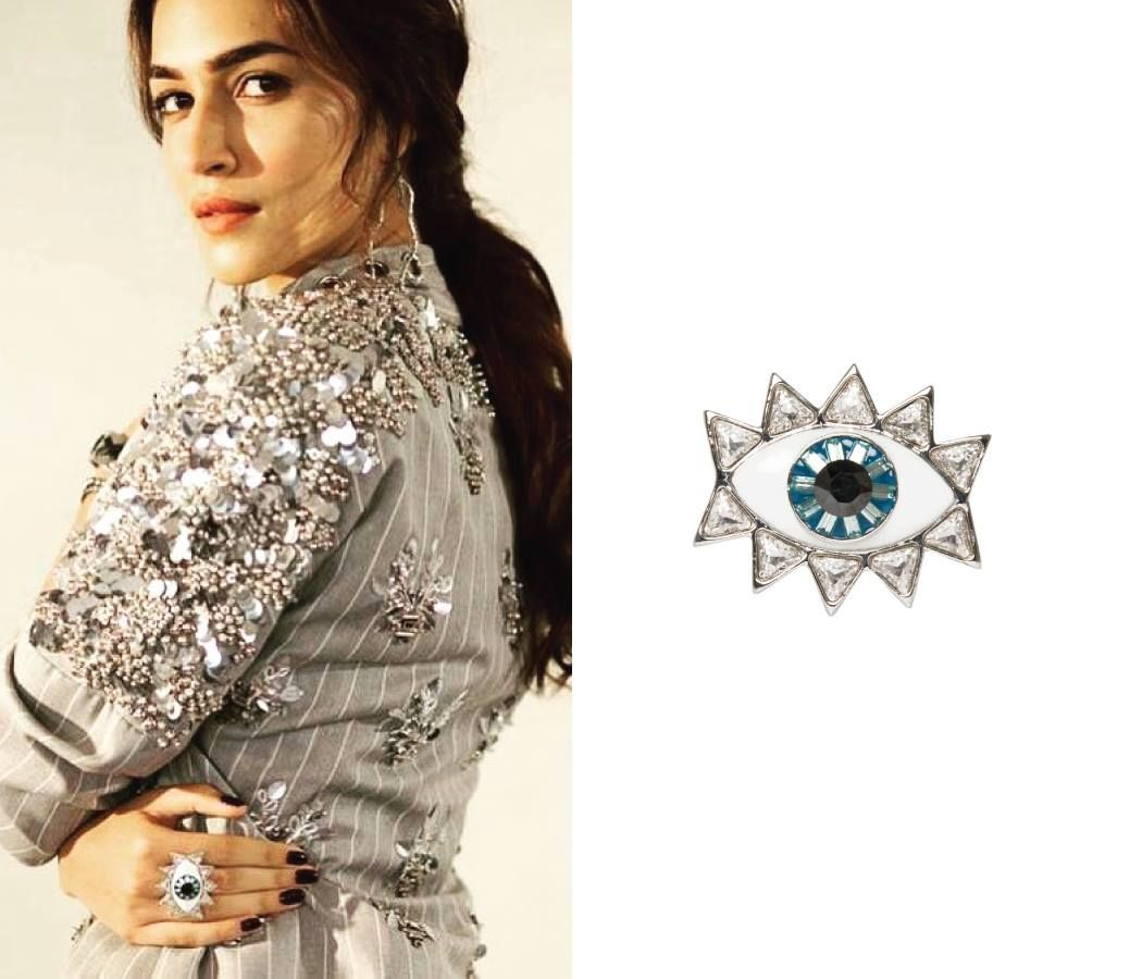d46a64caa Kriti Sanon wins attention with her eye-catchy statement ring by Valliyan  by Nitya . . Whatsapp us now for personal shopping experience!  +919152034996 .