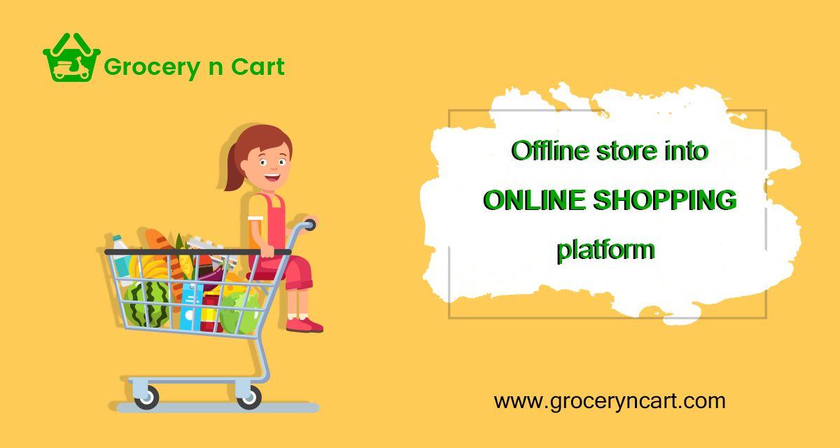 GroceryNCart is a Supermarket Software like Instacart