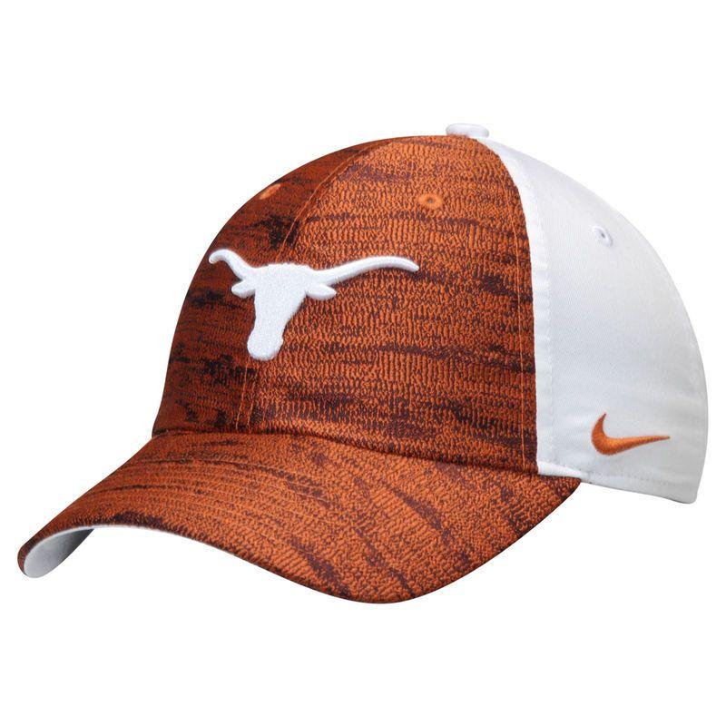 512f1569f7d Texas Longhorns Nike Women s Seasonal Heritage 86 Adjustable Hat - Texas  Orange White