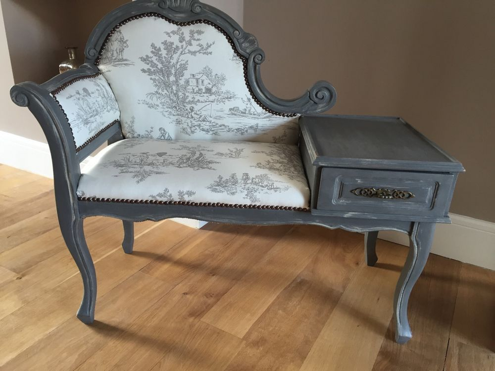 Details About Telephone Seat Table Hall Table Annie Sloan