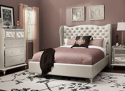 Merveilleux Hollywood Loft 4 Pc. Queen Bedroom Set   Queen Bedroom Sets, Queen Bedroom  And Lofts