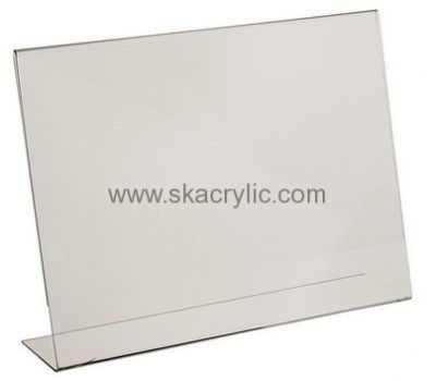 Customized Acrylic Table Stand Plastic Table Tent Holders Acrylic - Plastic table tents