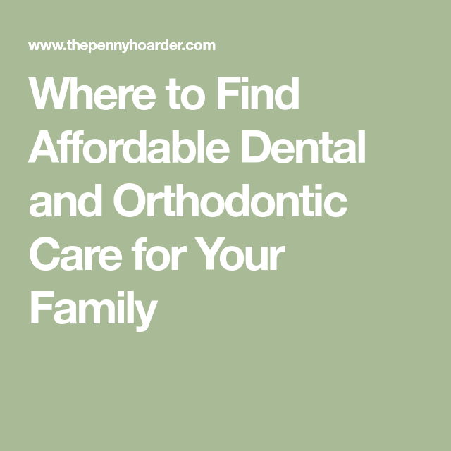 Can't Afford Dental Insurance? Here's How to Find Dental Care for Less #dentalcare