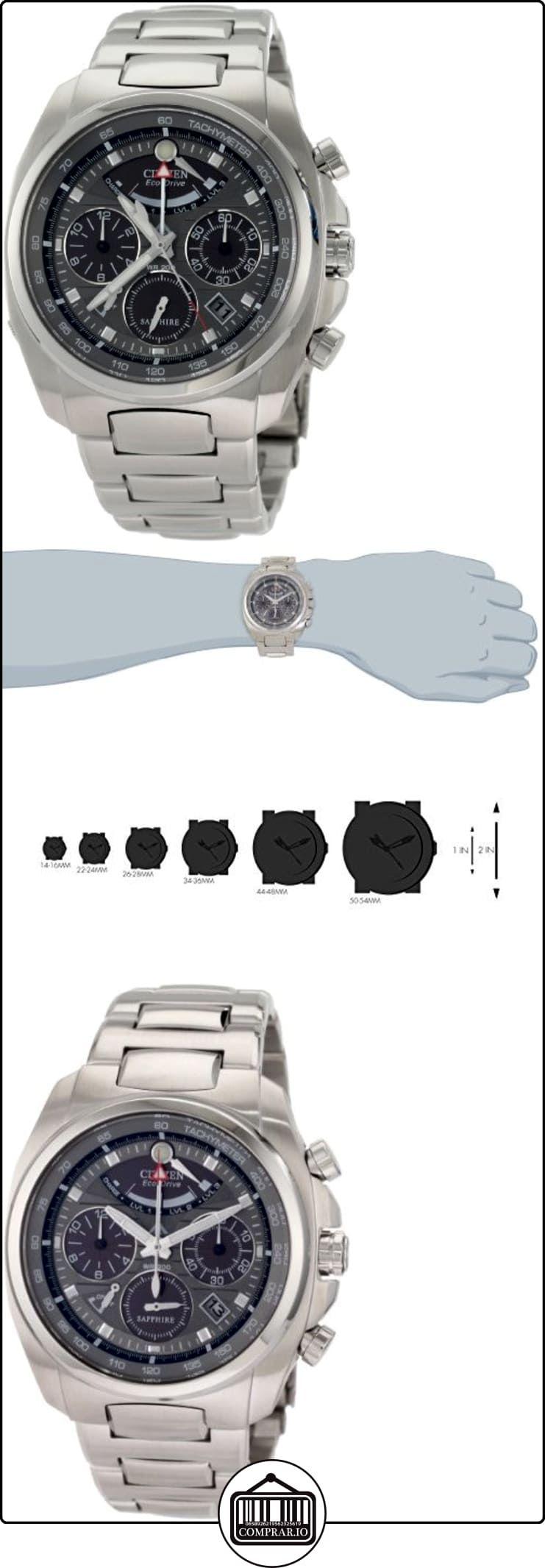 Citizen AV0050-54H - Reloj para hombres, correa de acero inoxidable color plateado  ✿ Relojes para hombre - (Lujo) ✿