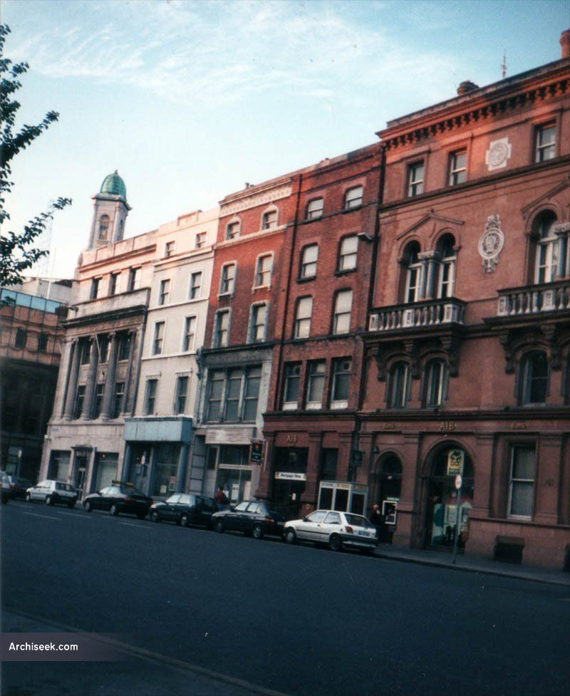 Three Wide Streets Commissioners Buildings Built On Their Usual Narrow Lots With Later Additions Demolished For The Westin Hotel In Late