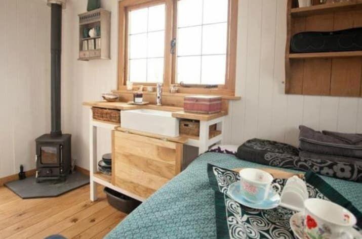 27 Incredible Airbnb Locations In Europe Shepherds Hut