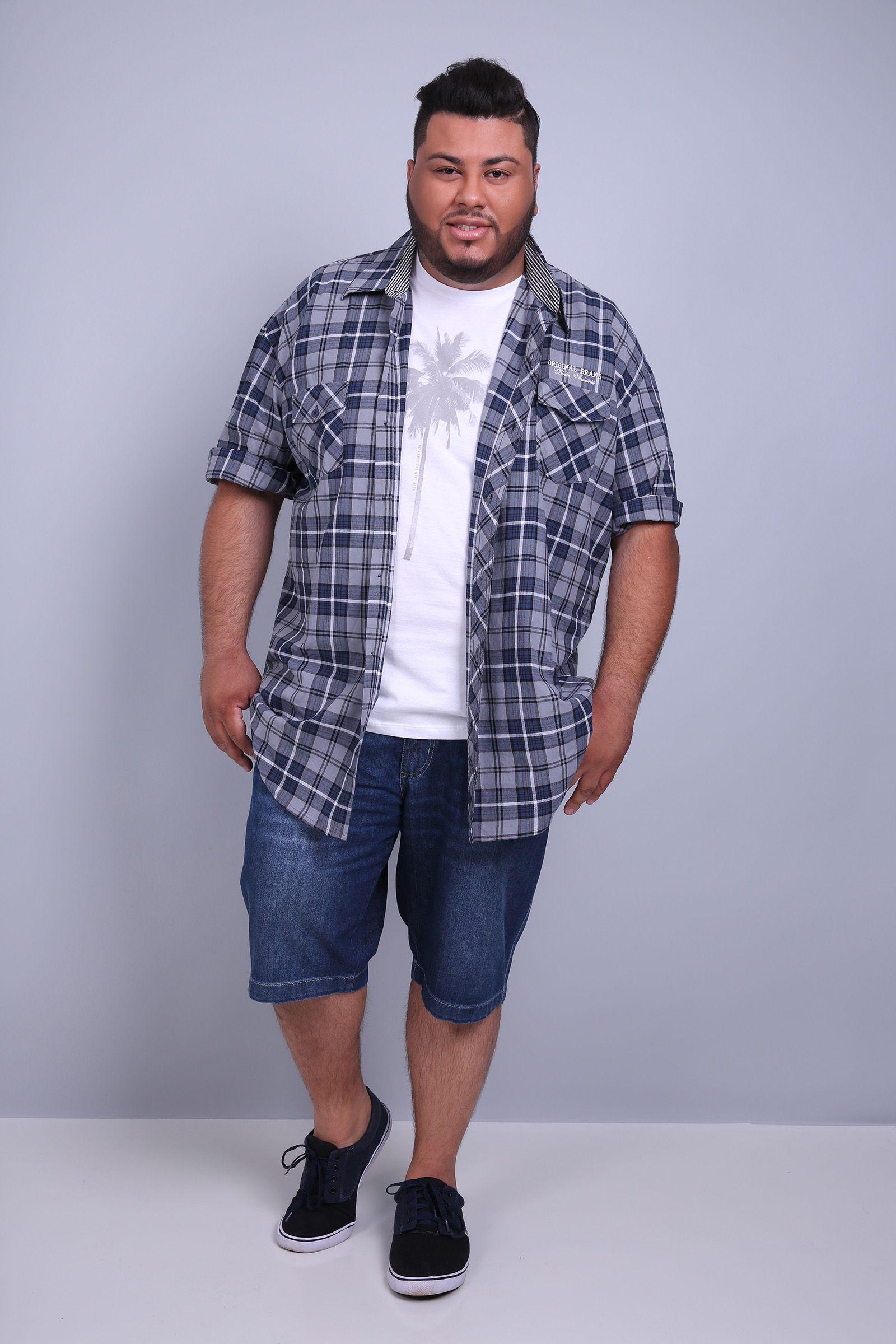 2256ed3f98116 Bermuda jeans plus size   Kauê Plus Size - kaueplussize-mobile ...