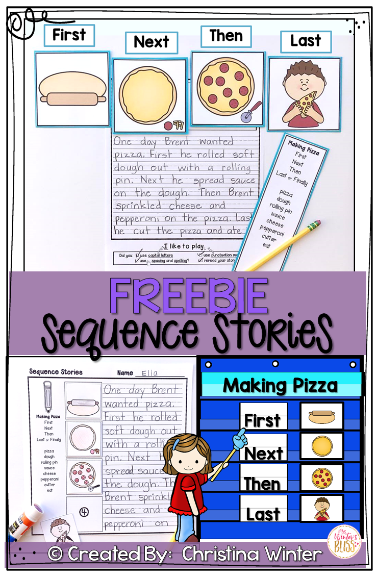 hight resolution of Sequence Writing Prompts FREE   Kindergarten writing