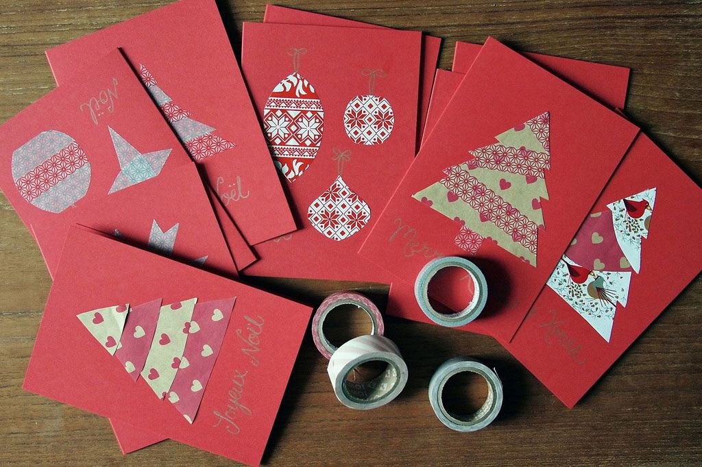 Christmas Card Making Ideas Pinterest Part - 34: Best Homemade Christmas Cards Ideas For Your Christmas Day