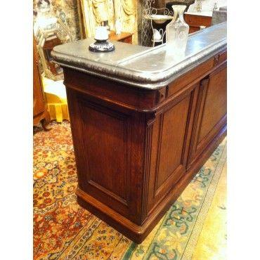 Ancien Comptoir De Bar Mm040 Comptoir De Bar Bar Interieur Comptoir