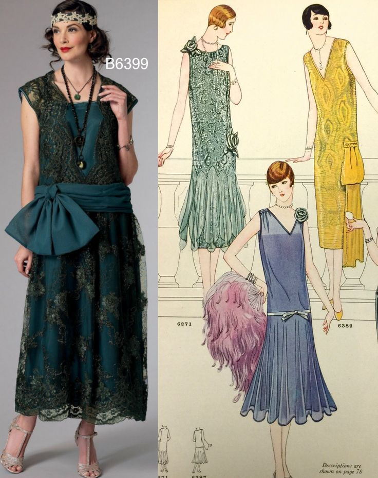Sew the Look: Butterick B6399 1920s dress pattern | Pattern Stuff ...