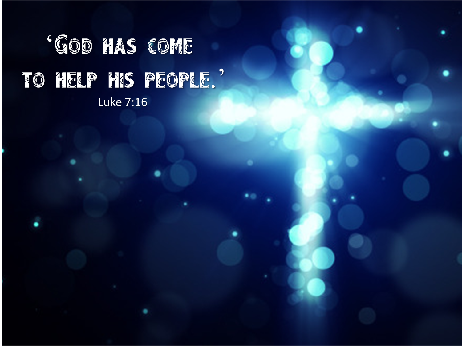 Luke 716 Worship backgrounds, Cross background, Motion