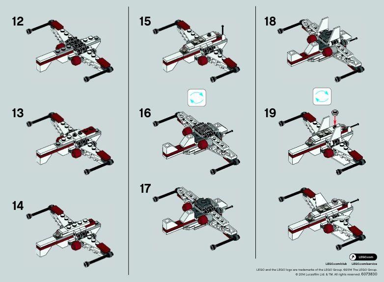 2 Star Wars Arc 170 Starfighter Lego 30247 Lego Pinterest
