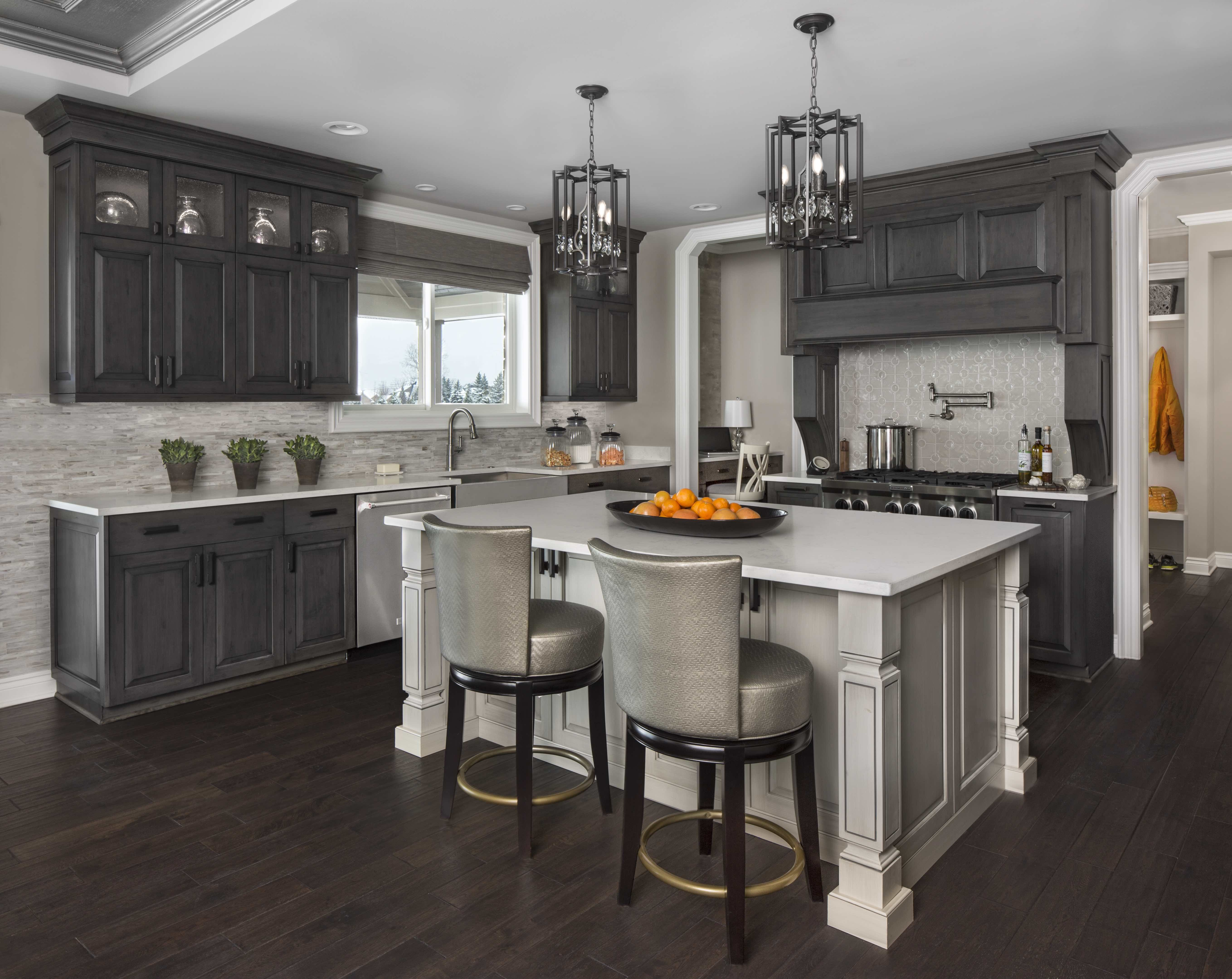 Contemporary Kitchen Renovated With Lafata Cabinets Custom Kitchen Cabinets Kitchen Remodel Kitchen Cabinets