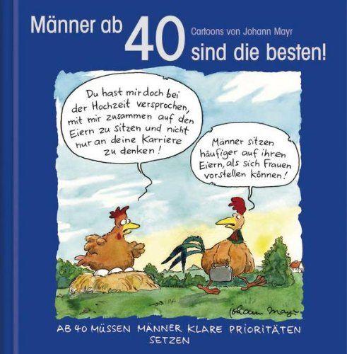 Sale Preis: Männer Ab 40 Sind Die Besten!: Cartoon Geschenkbuch. Gutscheine