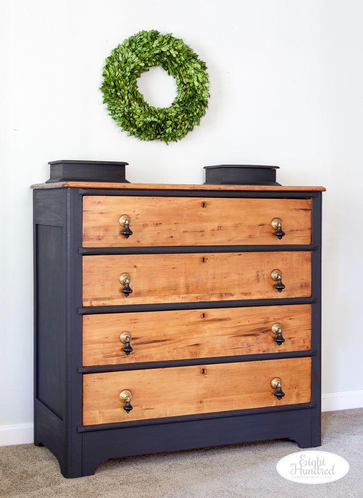 Victorian Dresser With Drop Pulls Victorian Dresser With Drop Pulls -