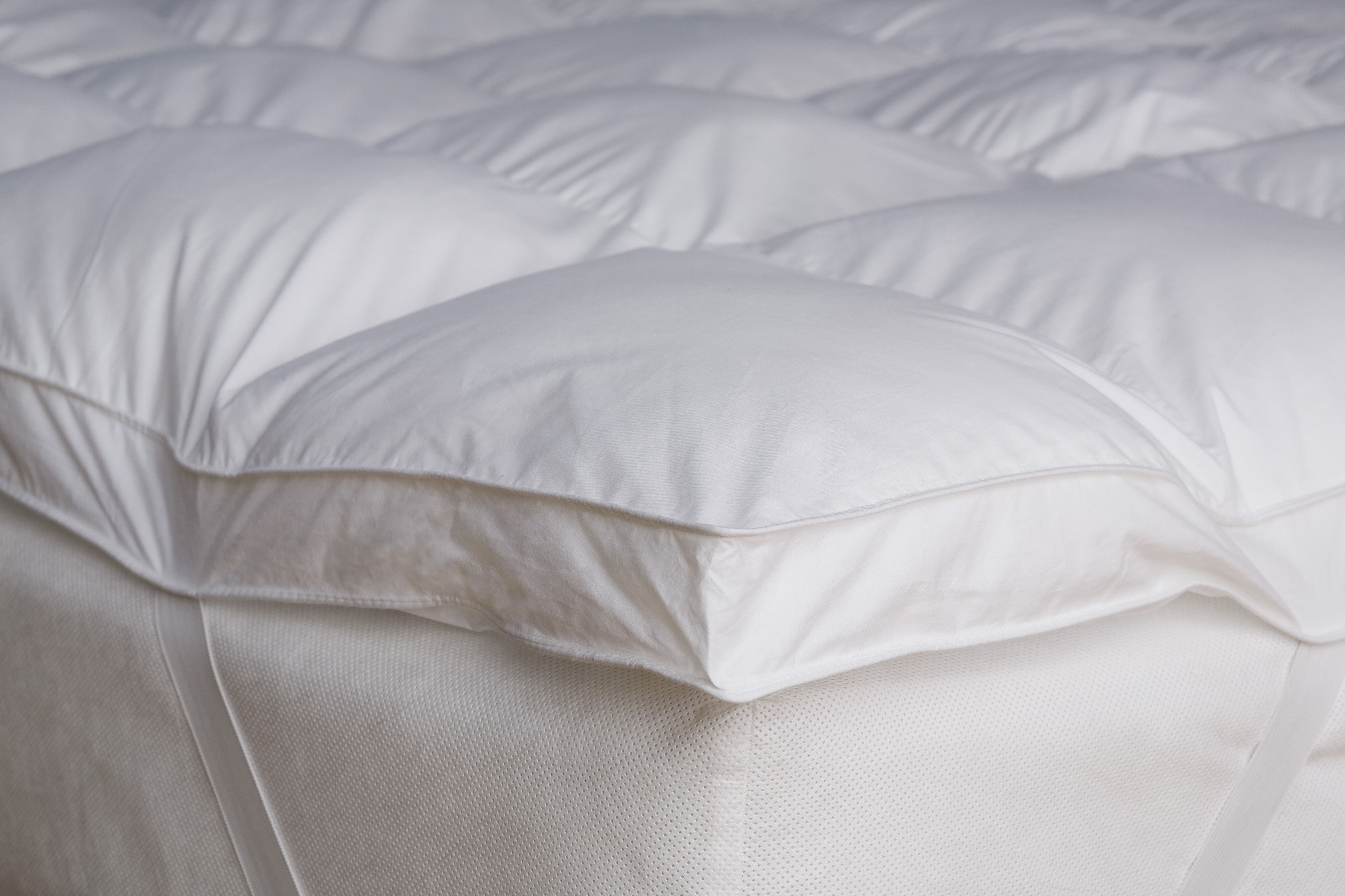 shipping bath inch gel product bedding mattress foam today slumber overstock memory fiber topper solutions free and