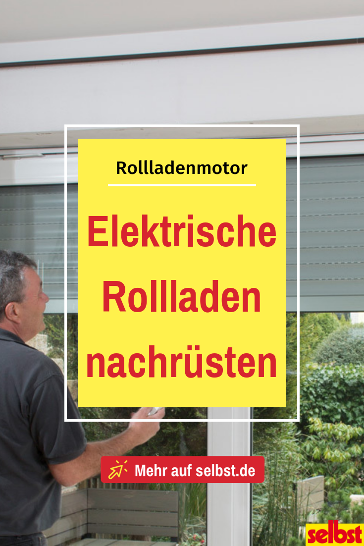 Photo of Rollladenmotor | selbst.de