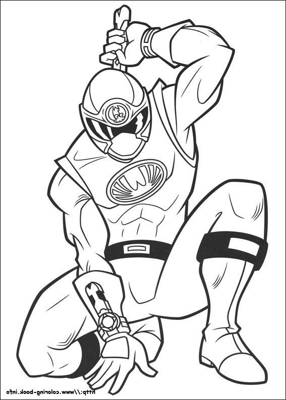 The Best Power Rangers Printable Coloring Pages