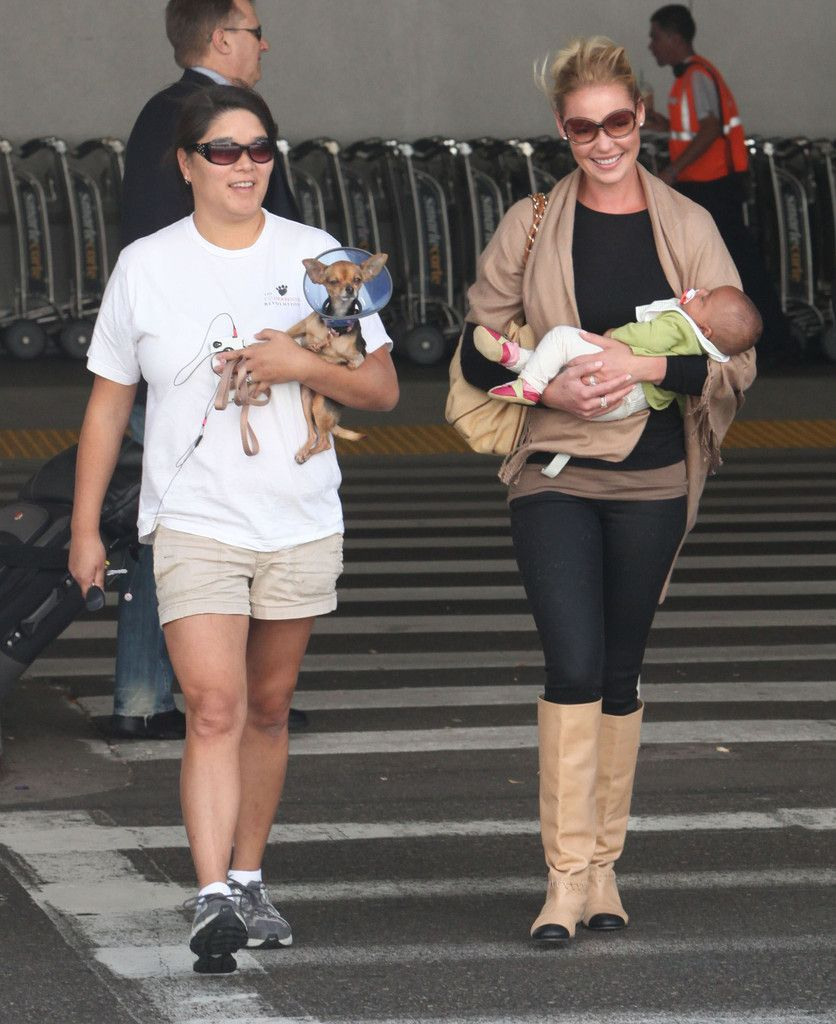 Meg Heigl Adalaide Kelley Photos Photos: Katherine Heigl And Family ...