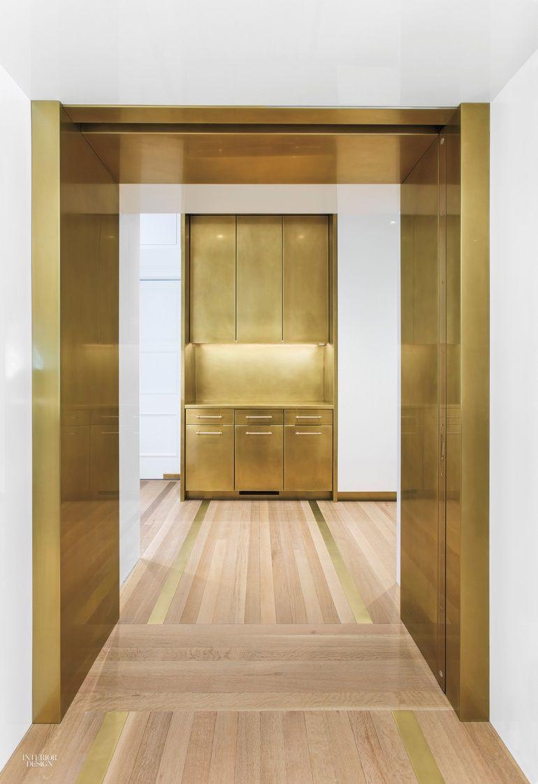 Amuneal Debuts Brass Kitchen In Interior Design Magazine