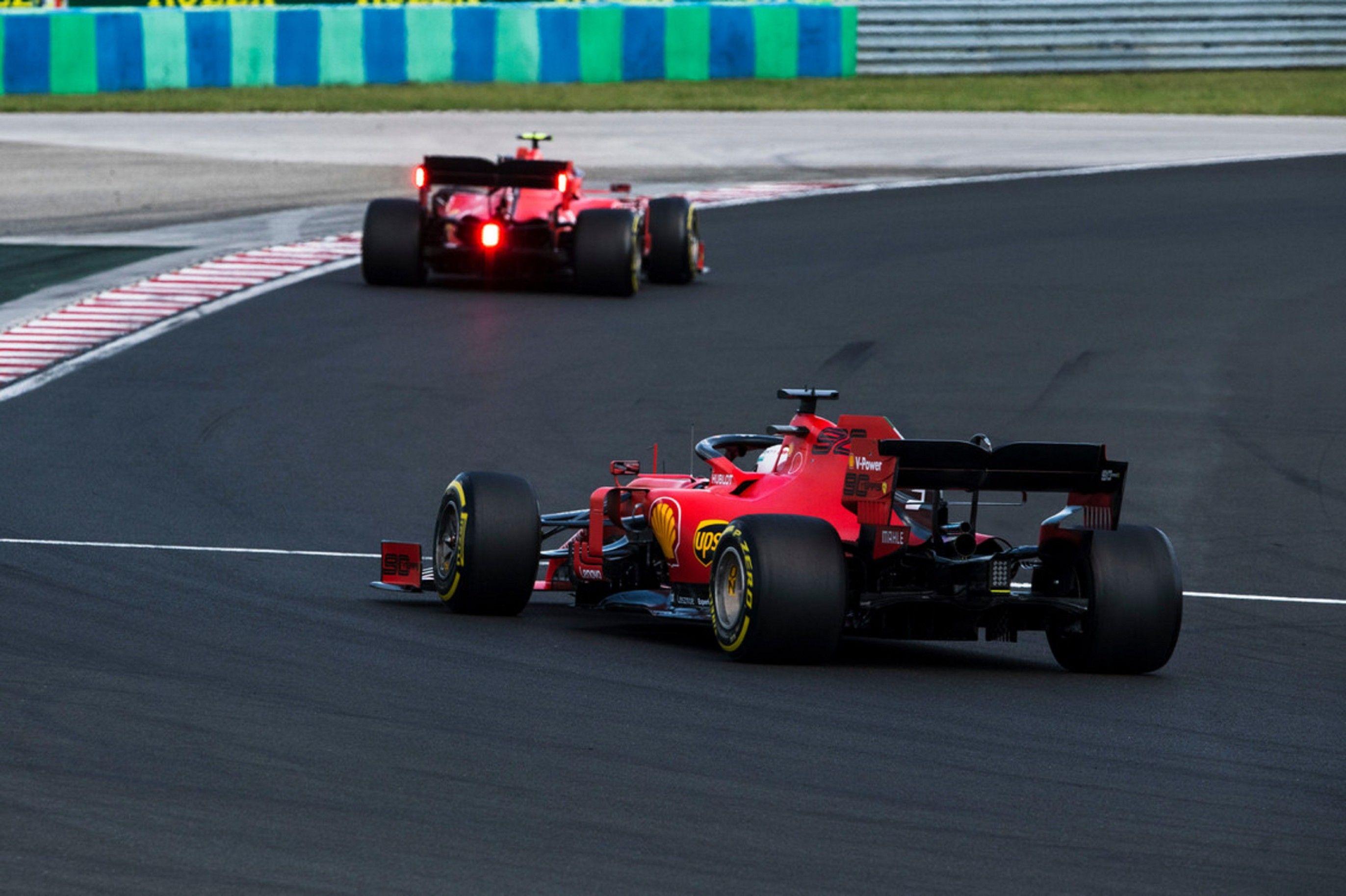 F1 2020 Ferrari Vettel Configurations
