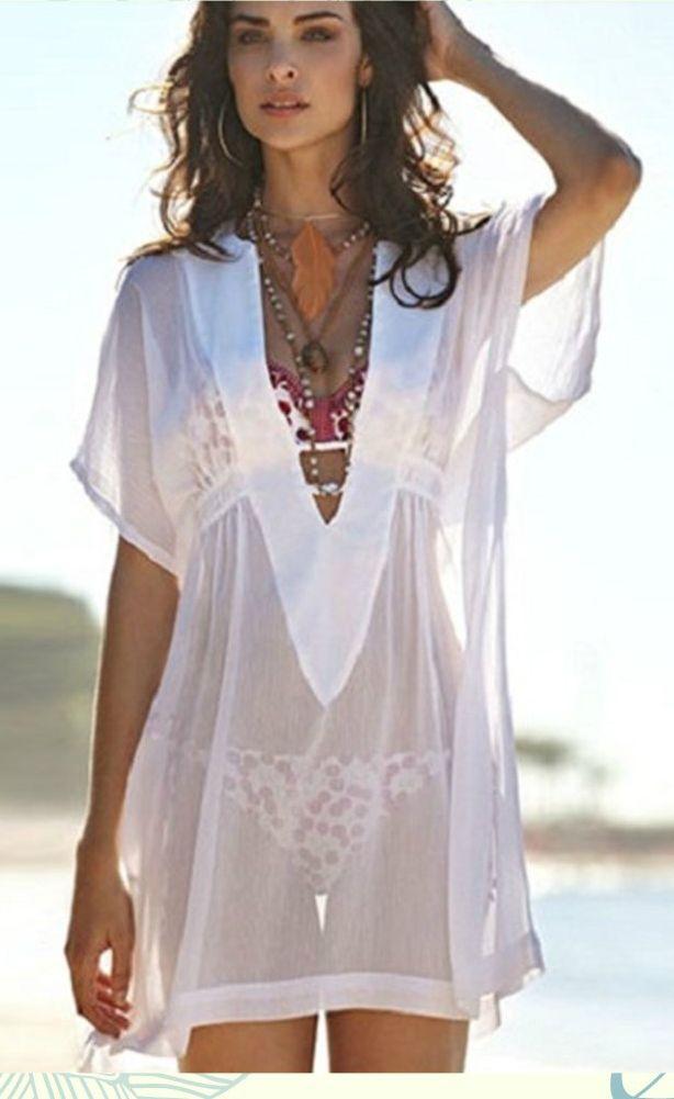 20d07eb6d1c45 Sexy Women'S Swimwear Beachwear Bikini Beach Cover Up Kaftan Ladies ...